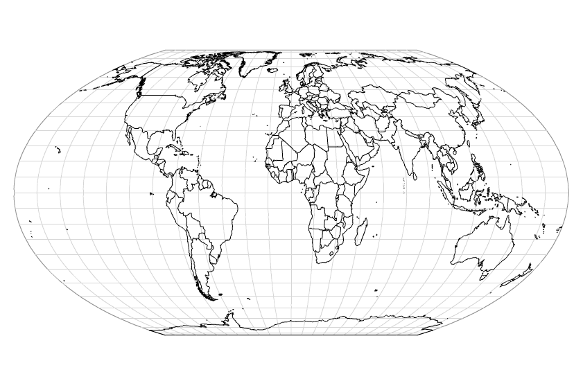 Vintage Globe Line Drawing : Tutorial rendering a world map in actionscript
